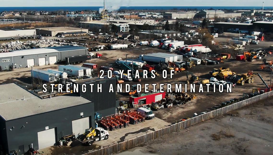20 Years of Strength + Determination